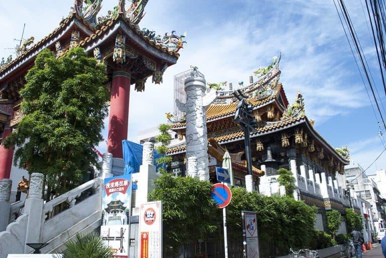 Temple in Yokohama Chinatown